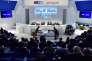 A l'assemblée générale des actionnaires de Telecom Italia, mardi 15 décembre, à Rozzano près de Milan.