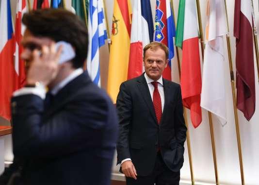 Le président du Conseil, Donald Tusk, le 16 décembre à Bruxelles.