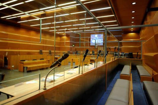 Une salle d'audience du tribunal de Grenoble le 12 décembre 2012.