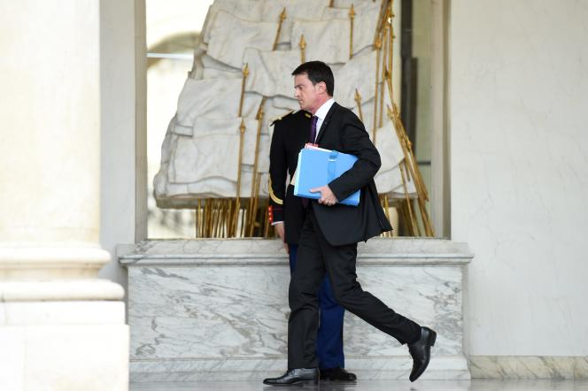 Manuel Valls à l'Elysée, le 16 décembre.