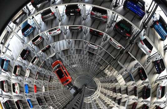 Au siège de Volkswagen à Wolfsbourg, en Allemagne.