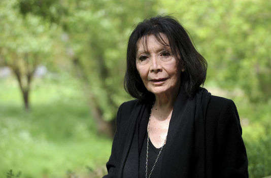 La chanteuse Juliette Gréco au Printemps de Bourges, le 25 avril 2015.