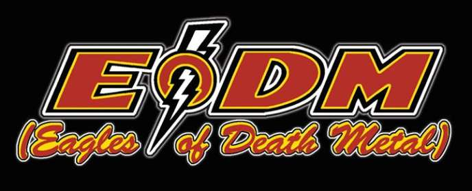 Le logo du groupe Eagles of Death Metal.