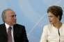 Michel Temer et Dilma Rousseff, le 24 novembre à Brasilia.