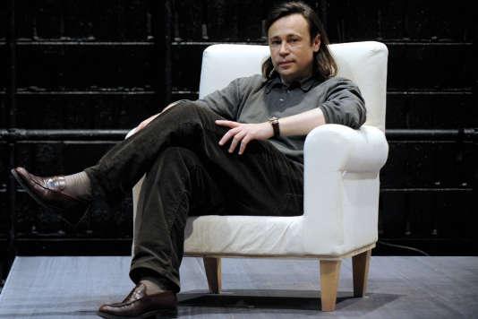 Le directeur du Théâtre national de la Colline, Stéphane Braunschweig, à Paris, le 11 mai 2009.