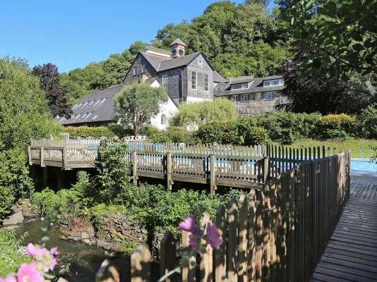 Cottage en pleine campagne, dans le Devon (Grande-Bretagne)