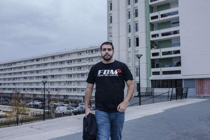Abdellah Boudour  a décidé d'organiser une action autour de la littérature dans sa cité d'Argenteuil.