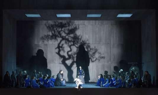 """""""Norma"""", de Bellini, dans une mise en scène de Stéphane Braunschweig au Théâtre des Champs-Elysées (TCE) à Paris."""