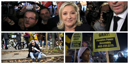 Marine Le Pen et la propagande, les services psy et Baltimore : l'essentiel du 17décembre à 8 heures.