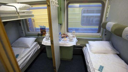 Cabine dans le Paris-Moscou Express