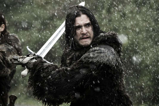 "Kit Harington (Jon Snow), dans ""Game of Thrones""."