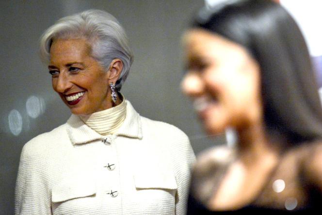 Christine Lagarde à Washington le 6 décembre 2015.
