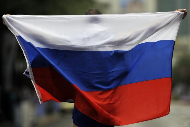 Un athlète russe aux championnats du monde de Daegu (Corée du Sud), en septembre 2011.