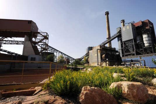 L'usine d'alumines de Gardanne, en octobre 2010.