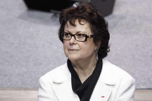 Christine Boutin, à Paris, en avril 2012.