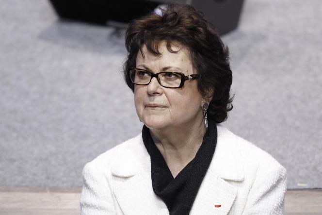 Christine Boutin, en avril 2012 à Paris.