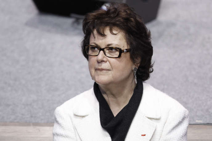 Christine Boutin, à Paris, en avril 2012.