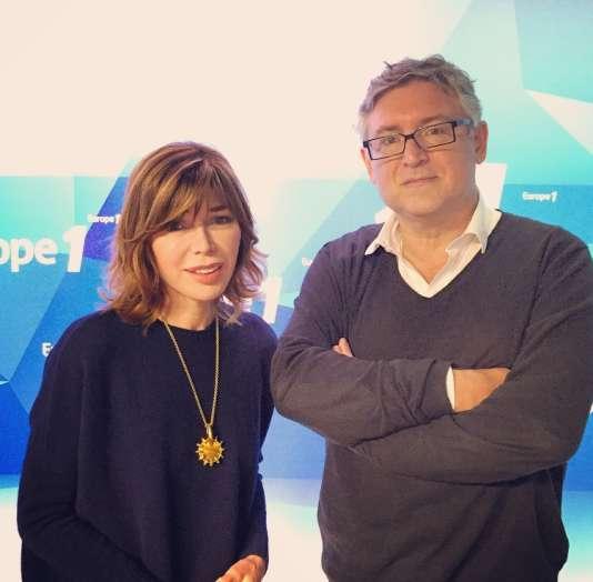 Isabelle Morizet et Michel Onfray.