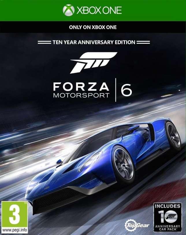 Forza Motorsport 6, sur Xbox One