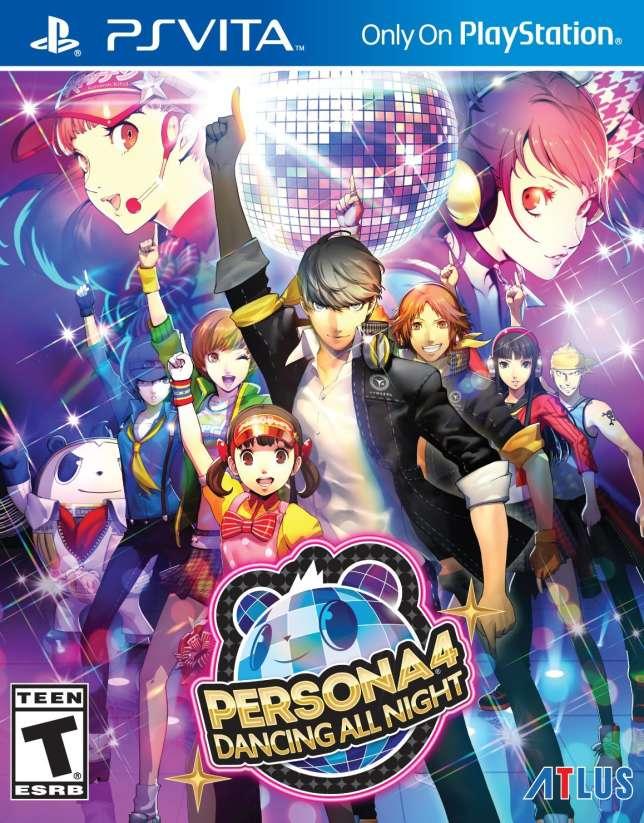 Persona 4 Dancing All Night, sur PS Vita.