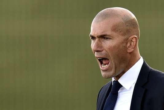 Zinédine Zidane, le 19 décembre en Espagne.