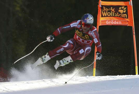 Le Norvégien Aksel Lund Svindal a encore triomphé sur la piste de la Saslong.
