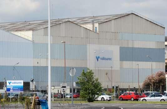 L'usine de Vallourec à Saint-Saulve (Nord), en avril2015.