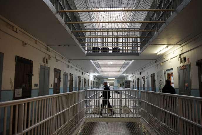 A l'intérieur de la prison des Baumettes, en mars 2013, à Marseille.
