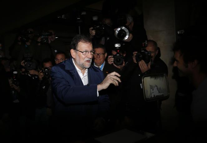 Mariano Rajoy à Madrid le 20 décembre.