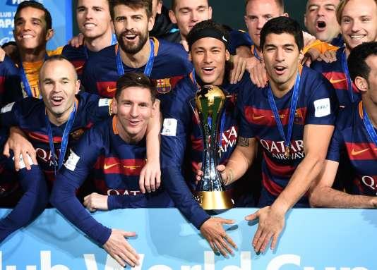 Iniesta, Messi, Neymar et Suarez sur le toit du monde pour la troisième fois.