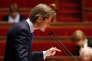 Le député Les Républicains de l'Yonne, Guillaume Larrivé, à l'Assemblée nationale.