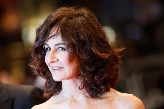 L'actrice et humoriste Valérie Lemercier au Festival de Cannes en mai 2015.