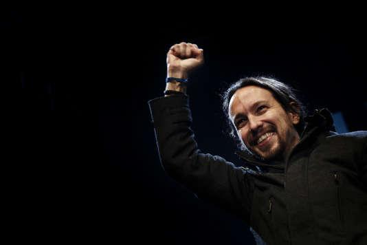 Pablo Iglesias, dirigeant de Podemos.