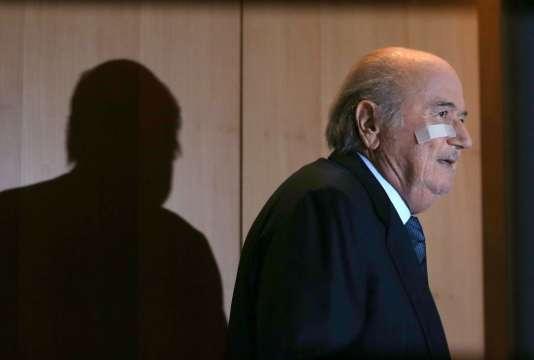 Joseph Blatter, le 21 décembre 2015.