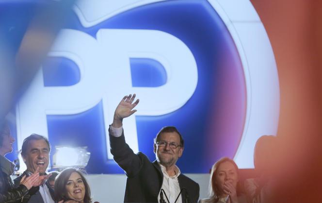 Mariano Rajoy, le premier ministre sortant.