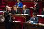 Jean-Jacques Urvoas, président de la commission des lois, et Manuel Valls, à l'Assemblée nationale, le 19 novembre.