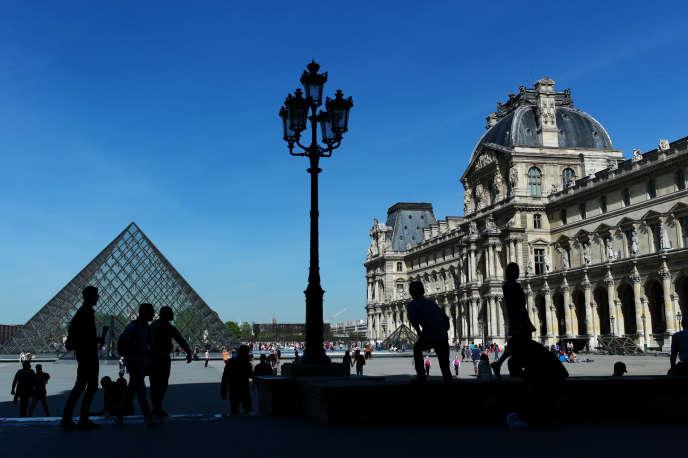 Le Musée du Louvre, en avril 2015.