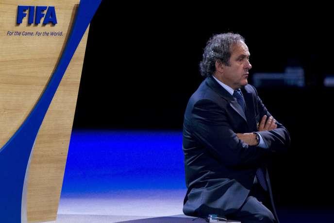 Michel Platini, en juin 2011 à Zurich (Suisse).