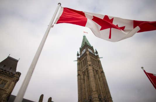 Devant le Parlement canadien à Ottawa, le 4 décembre 2015.