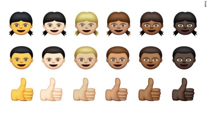 Les nouveaux smileys Apple.