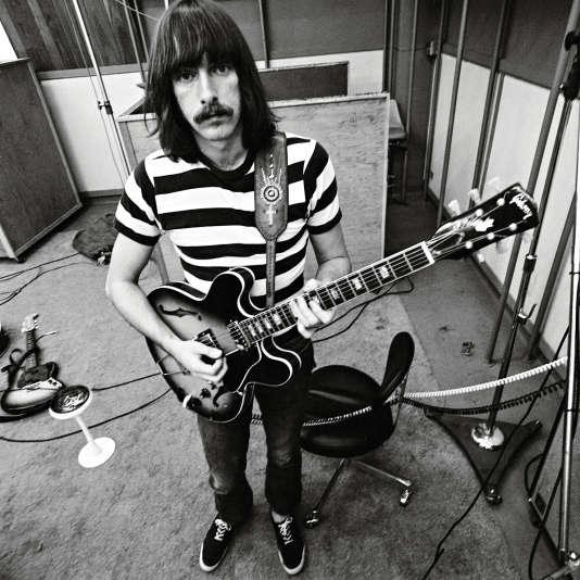 """Sterling Morrison, guitariste du groupe """"historique"""" formé en 1965."""