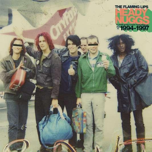 Pochette de l'album « Heady Nuggs (20 Years After Clouds Taste Metallic 1994-1997) », de The Flaming Lips.
