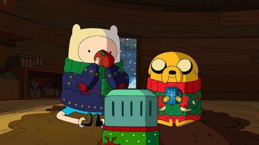 """L'ovni """"Adventure Time"""" débarque en France dès le 1er janvier."""
