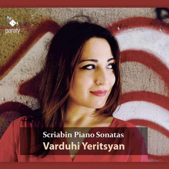 Pochette de l'album « Intégrale des sonates pour piano » d'Alexandre Scriabine, par la pianiste Varduhi Yeritsyan.