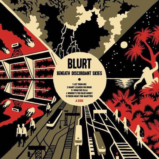 Pochette de l'album « Beneath Discordant Skies », de Blurt.