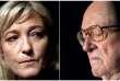 Marine Le Pen et Jean-Marie Le Pen.