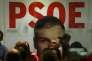 Dans le QG du Parti socialiste ouvrier espagnol (PSOE) à Madrid, dimanche 20décembre.