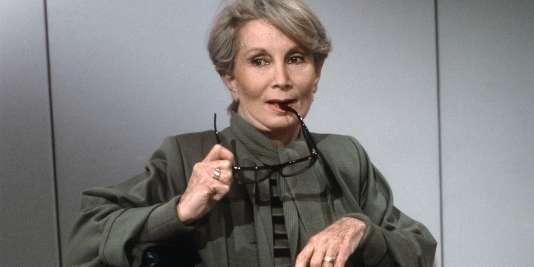 Fernande Grudet, connue sous le nom de Madame Claude.