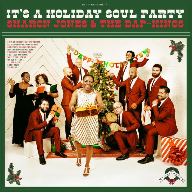Pochette de l'album « It's a Holiday Soul Party », de Sharon Jones & The Dap-Kings.