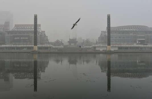 A Tianjin, le 23 décembre.